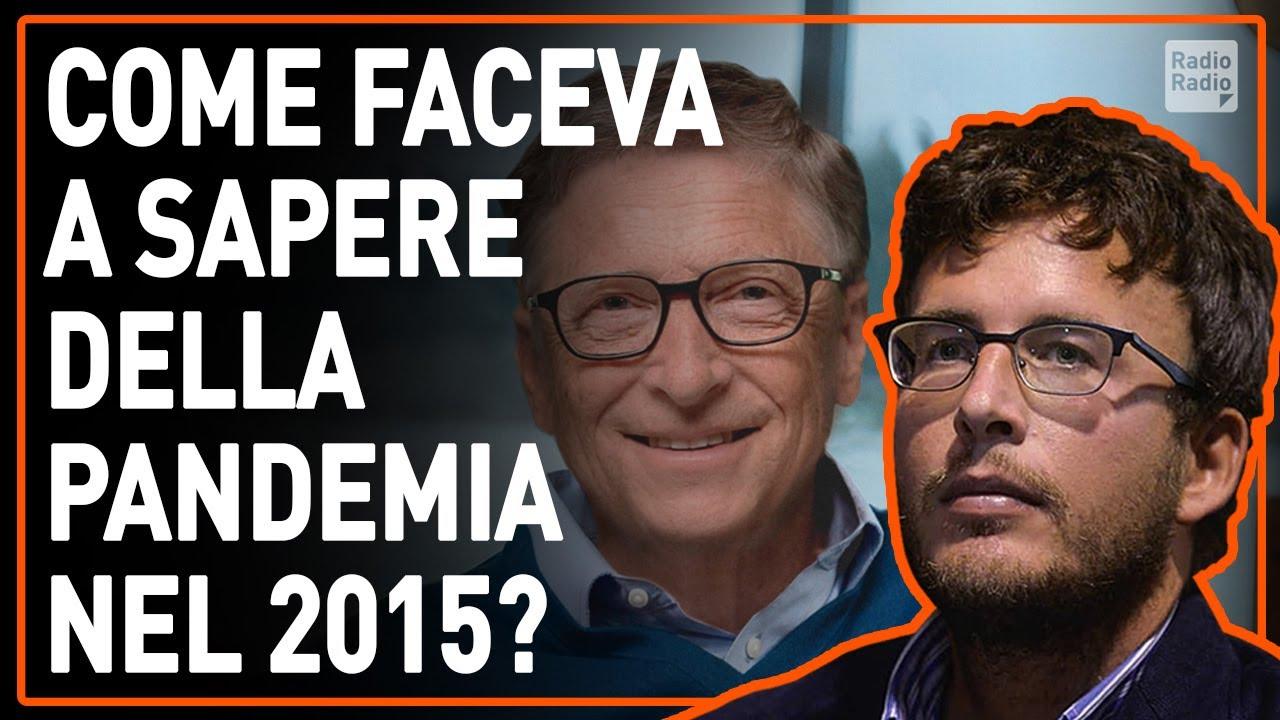 IL MISTERO DI BILL GATES: NEL 2015 PREVEDEVA LA PANDEMIA, ORA FINANZIA IL VACCINO - Diego Fusaro