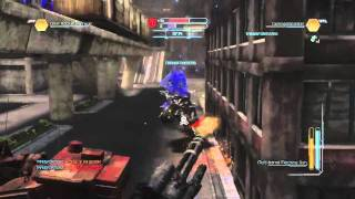 Transformers: Dark of the Moon Video Game Multiplayer - Warpath and Breakaway Gameplay