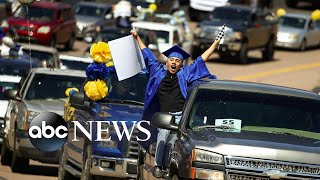 Graduation ceremony, floods in Michigan, protests in Uganda: The Week in Photos
