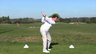 GET YOUR SWING ON-PLANE WITH THE SURE-SET GOLF TRAINING AID