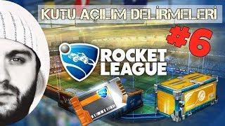 Rocket League :Türkçe - Kutu Açılım Delirmeleri #6 - 6x ANAHTAR + 6x ŞİFRE ÇÖZÜCÜ