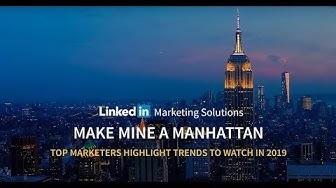 """Marketing Trends @ """"Make Mine a Manhattan"""""""