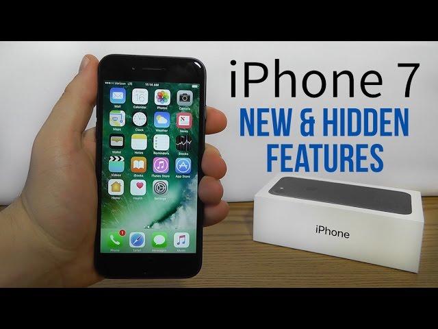 Iphone 7 New Hidden Features Youtube
