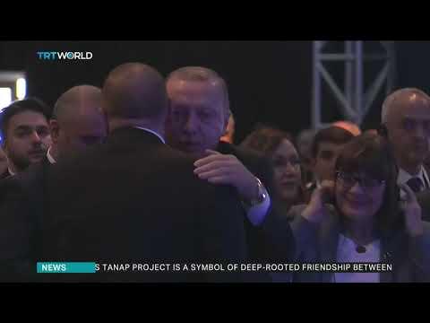 Turkey and Azerbaijan inaugurate TANAP gas pipeline project