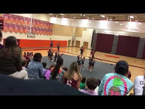 Mountain View High School Cheer  2017 September