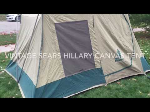 214 & Setting up your Hillary tent - YouTube