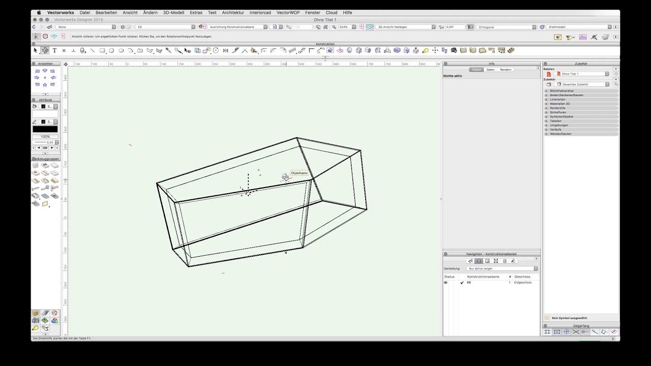 bauteile auf gehrung konstruieren youtube. Black Bedroom Furniture Sets. Home Design Ideas
