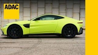 Aston Martin Vantage Fahrbericht Review Daten Preis Adac Motorwelt Check 2018 Youtube