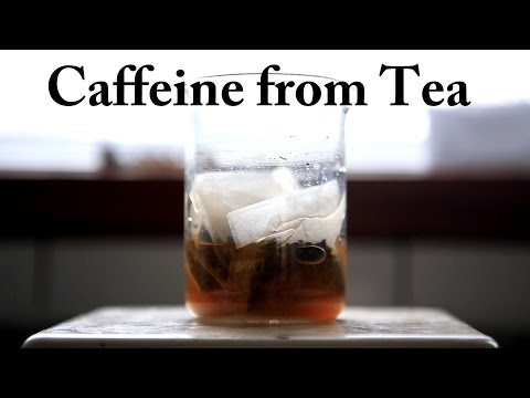 How To Extract Caffeine From Tea (Classic DCM Method)
