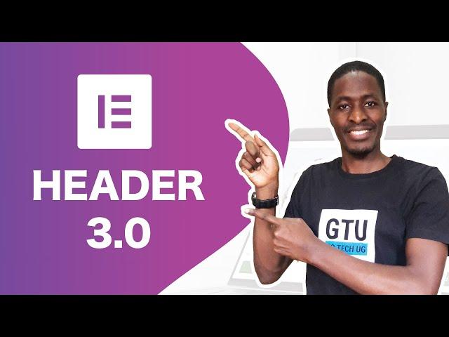 Create a Header in Elementor 3.0 | Elementor Theme Builder Series