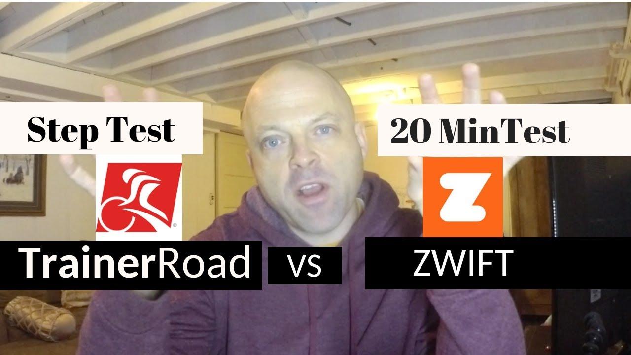 Zwift vs  TrainerRoad (2019 FTP TEST SHOWDOWN)