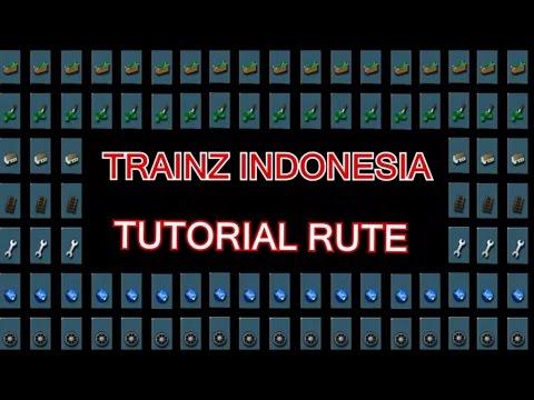 TUTORIAL MEMBUAT RUTE PART 2 TRAINZ SIMULATOR INDONESIA