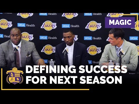 Magic Johnson Defines Lakers Success For Next Season