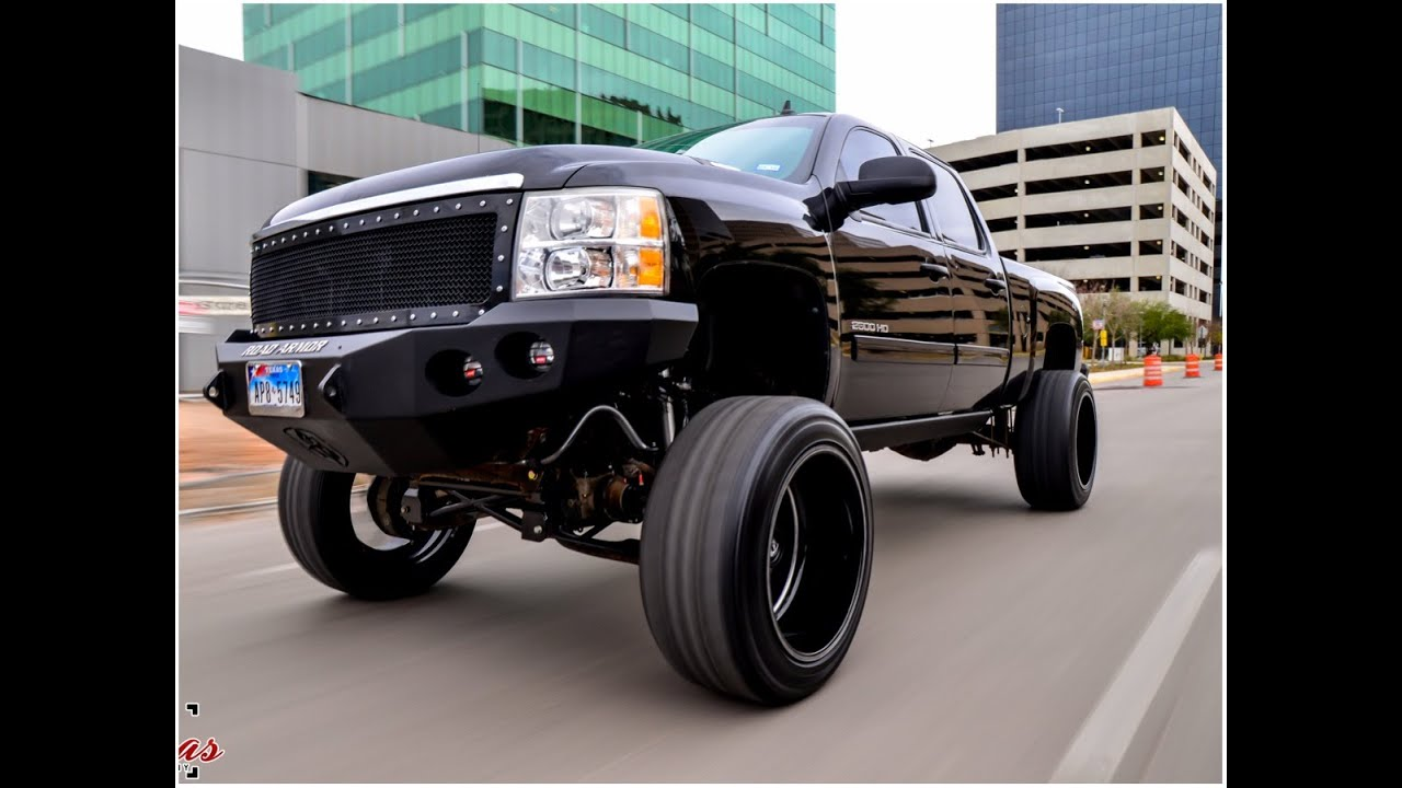 Silverado 2011 chevy silverado wheels : 2013 Chevy Silverado on a 9 Inch Cognito lift with 24 by 14 Fuel ...