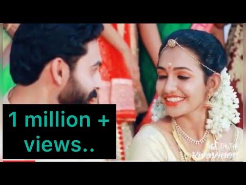 Kiss nnu paranja ithanuuuu....kidukiii thakarthu... kerala wedding....kiss of Mr.Nair😘