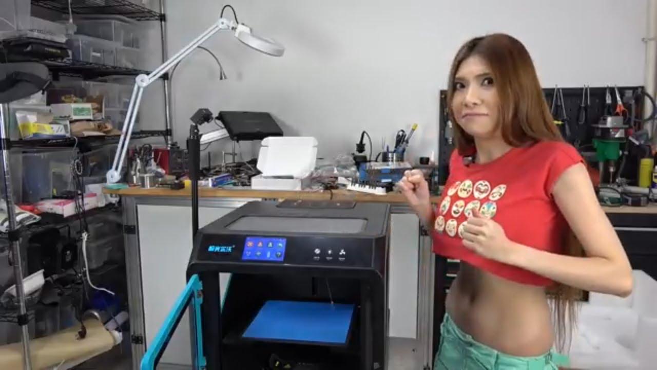 SexyCyborg:China's WEIRDEST 3D Printer  JGAurora A7 Unboxing & Review