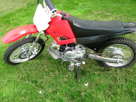 2007 Baja 90cc Dirtbike Youtube