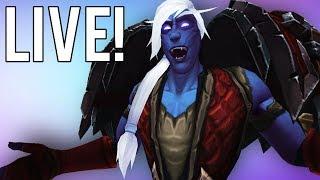 BFA BETA PVP SERVERS BACK! BYE LEGION! - World of Warcraft: Battle For Azeroth (Livestream)