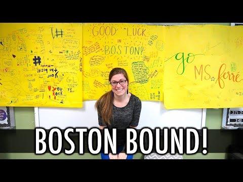 Next Stop: Boston Marathon! | Teacher Evolution Ep 42