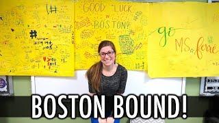 Next Stop: Boston Marathon!   Teacher Evolution Ep 42