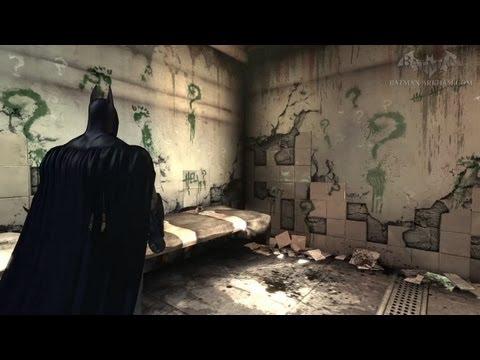 Batman: Arkham Asylum - Walkthrough - Chapter 53 - The Riddler