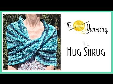 CROCHET The Hug Shrug