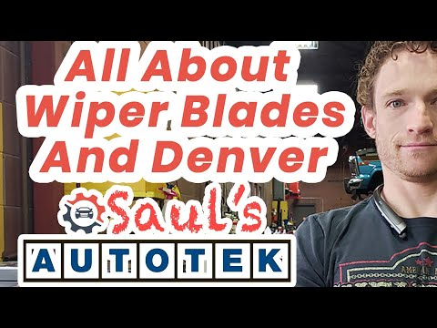 All About Wiper Blades Auto Mechanic Repair Denver Englewood Colorado
