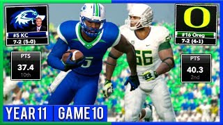 Winner Takes 1st Place  | NCAA Football 14 Dynasty Year 11 - Game 10 vs #16 Oregon | Ep.197