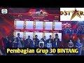 Pembagian Grup 30 Bintang D'STAR II Drawing