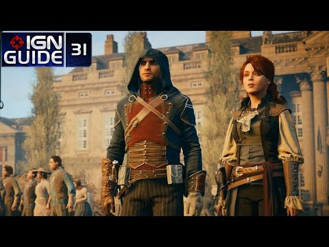 Assassin's Creed Unity 100% Sync Walkthrough - Sequence 12, Memory 01: The Supreme Being
