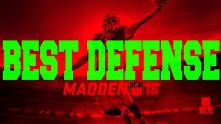Madden 16 Greatest / Best Nano Blitz Unstoppable Defense How To: 3-4 Normal