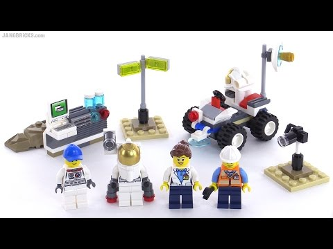 lego city space starter set 60077 reviewed youtube. Black Bedroom Furniture Sets. Home Design Ideas