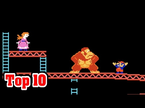 Top 10 AMAZING FACTS About RETRO VIDEO GAMES