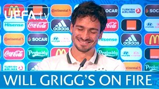 Will Grigg's on fire! Is Mats Hummels terrified? thumbnail