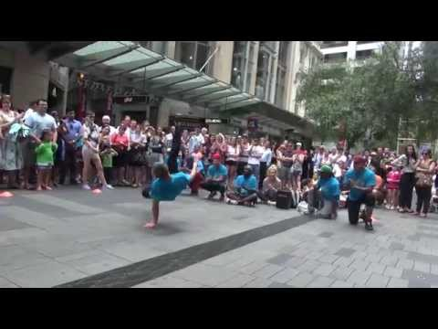Street Hip-Hop, dancing on the streets of Sydney