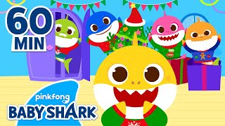 Christmas Sharks UNITE! | Christmas Songs | Holiday Special | +Compilation | Baby Shark Official