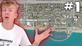 NIEUWE SERIE! DE GROOTSTE STAD BOUWEN AAN HET WATER! (Cities Skylines #1)