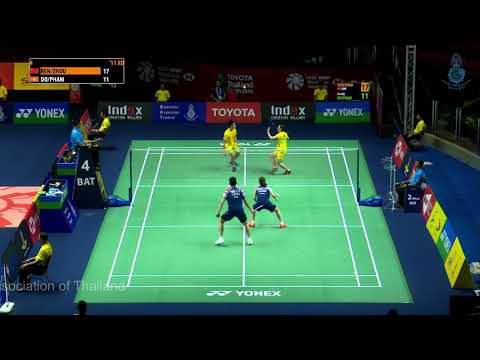 Qualification | XD | REN Xiang Yu+ZHOU Chao Min (CHN) VS DO Tuan Duc+PHAM Nhu Thao (VIE)