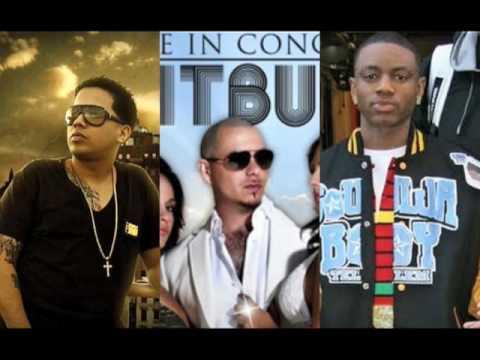 Kiss Me Thru The Phone De La Ghetto Ft Pitbull & Soulja Boy