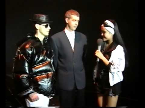 Interview and performance for Japanese TV Station (Fuji TV) - 14th. of September 1,990