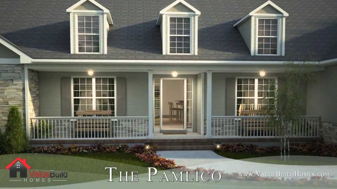 build house plans 3d virtual tour of pamlico house plan youtube 9309