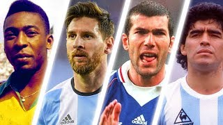Top 20 GREATEST Football Players of All Time !