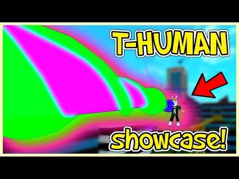 Ro-Ghoul - T-Human Showcase !