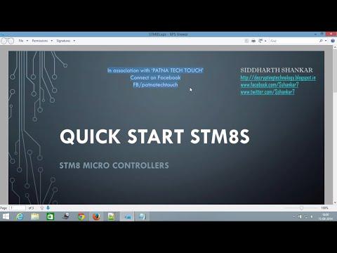 STM8 - Урок #3  Hello World by Паяльник TV