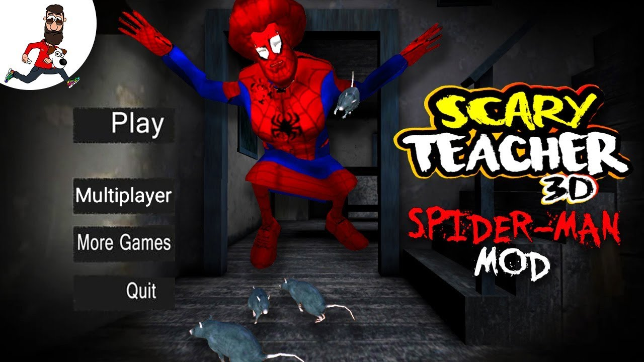 Scary Teacher 3D Mod (SPIDER-MAN) ► PRANKS ON TEACHER ► Chapter 6-10