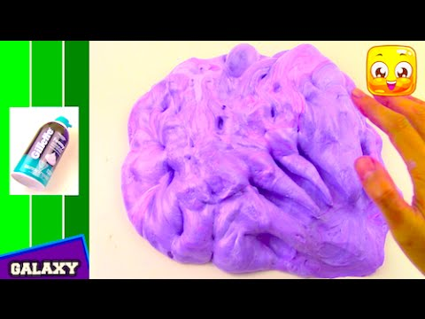 Fluffy slime tutorial with shaving cream diy how to make galaxy fluffy slime tutorial with shaving cream diy how to make galaxy slime without borax or liquid starch ccuart Images
