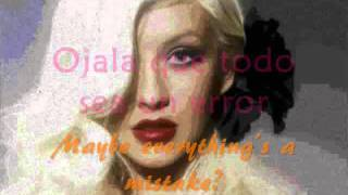 Christina Aguilera – El Beso Del Final (with Lyrics and English Translation)