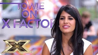 TOWIE STAR SWAPS SHOWS | The X Factor UK