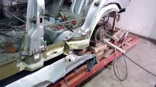 Кузовной ремонт BMW 325/ The restoration BMW e36 . ч.3 #BodyrepairBMW #BMWKarosseriereparatur