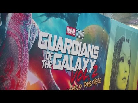 Guardians of the Galaxy Vol. 2 World Premiere